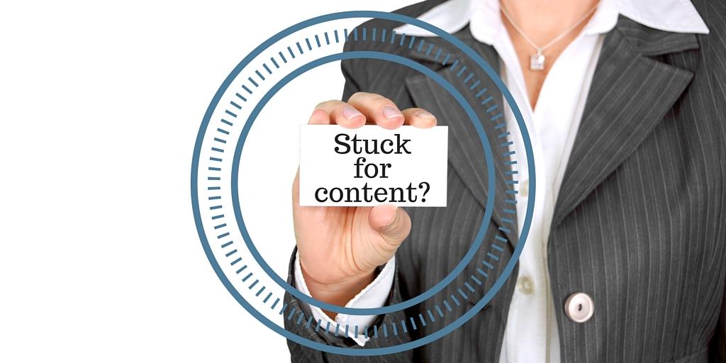 Stuck for content? Outsource Your Marketing!